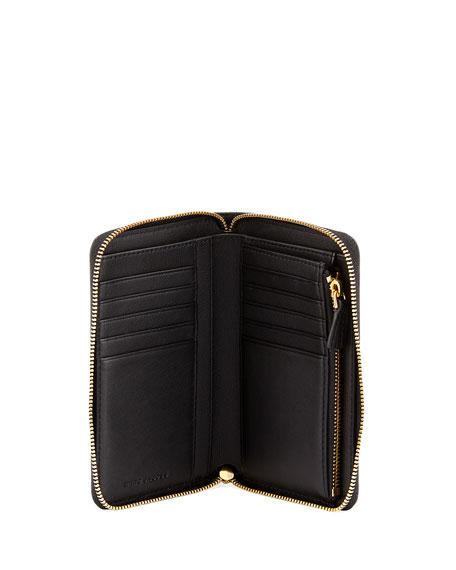 Double J Small Zip Wallet