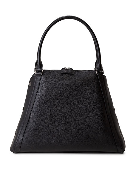Aimee Medium Leather Satchel Bag