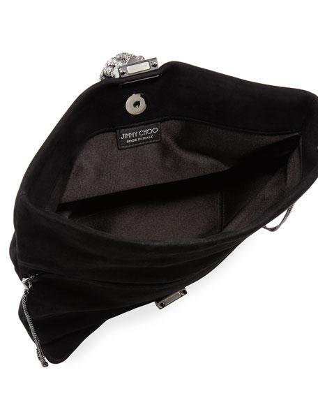 Chandra/M Suede Clutch Bag