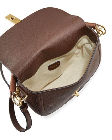 Braided Top-Handle Saddle Bag