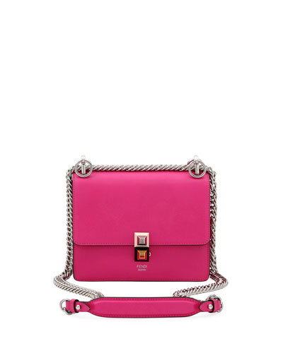 e0215e91fb4a Fendi Kan I Mini Studded Shoulder Bag from Neiman Marcus - Styhunt