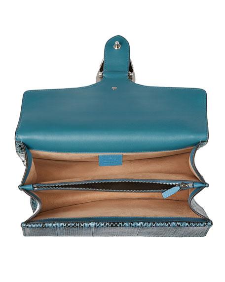 Dionysus Small Blind For Love Shoulder Bag, Marine Blue