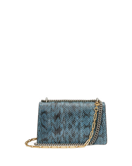 Dionysus Small Blind For Love Shoulder Bag, Marine Blue