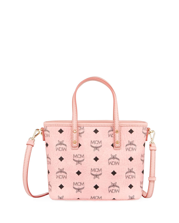 bf985d2676 MCM Anya Mini Logo Shopper Bag