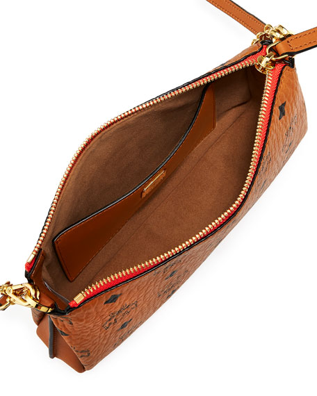 Millie Visetos Medium Chain Crossbody Bag
