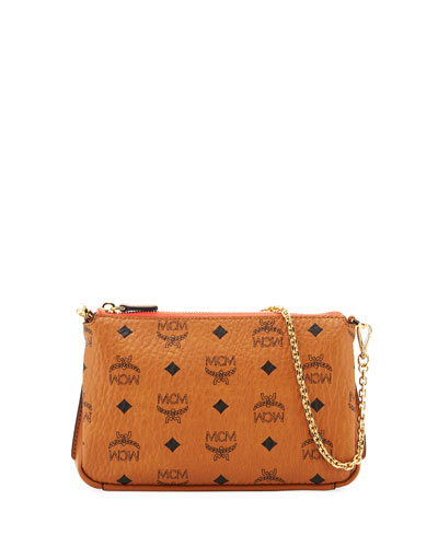 Millie Visetos Medium Chain Crossbody Bag