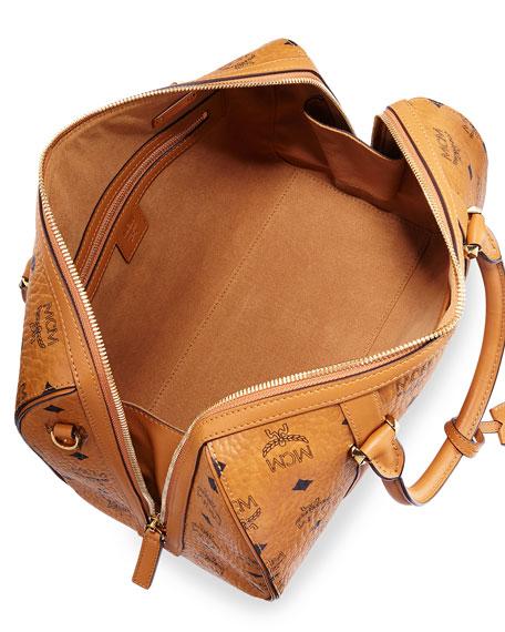 Signature Visetos Original Boston Satchel Bag