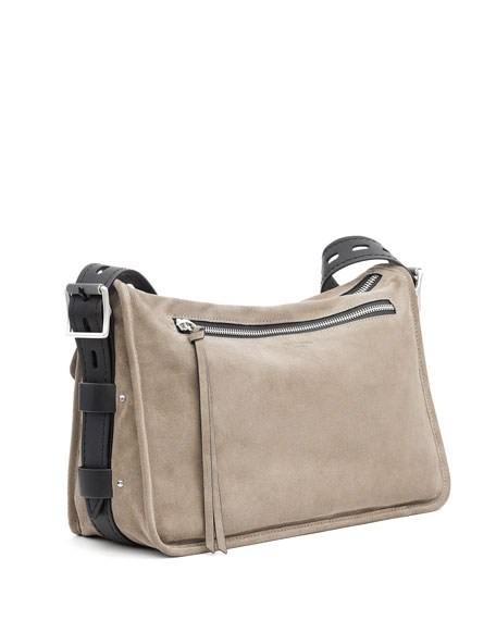 Field Suede Messenger Bag