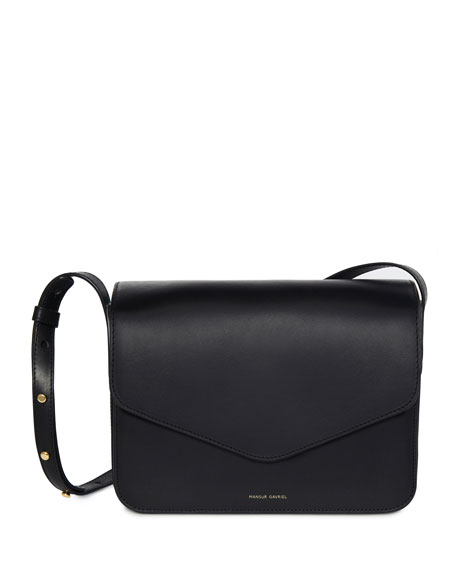 Mansur Gavriel Vegetable-Tanned Leather Envelope Crossbody Bag