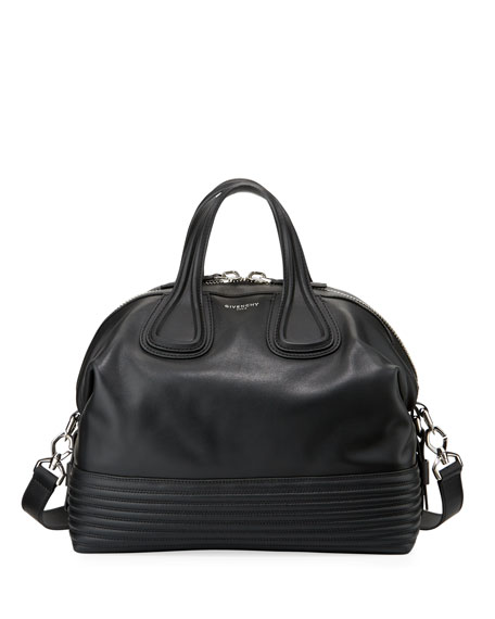 Givenchy Nightingale Medium Biker Satchel Bag