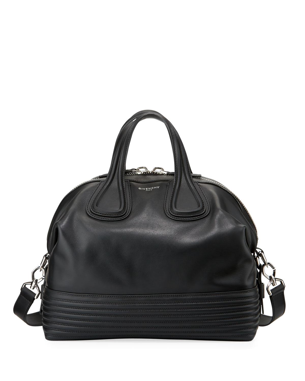 867987efc1 Givenchy Nightingale Medium Biker Satchel Bag