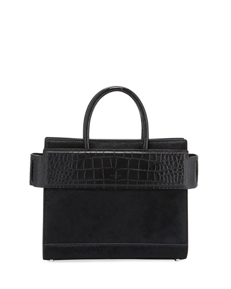 Givenchy Horizon Small Calf Hair Tote Bag