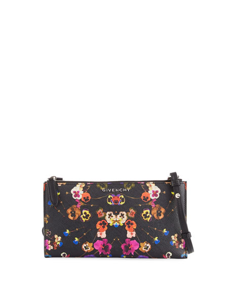 Givenchy Antigona Pansies Crossbody Pouch Bag