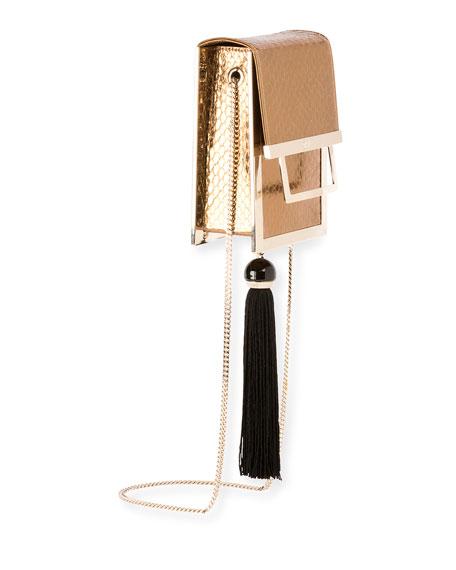 Mill Et Une Nuits Chain Box Bag, Bronze