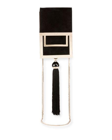 Mill Et Une Nuits Chain Box Bag, Black