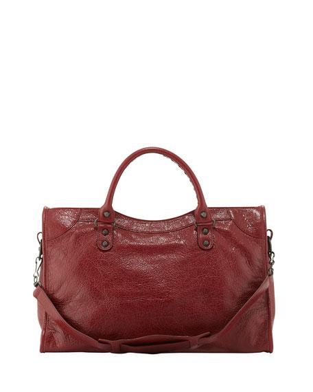 Classic City Lambskin Tote Bag