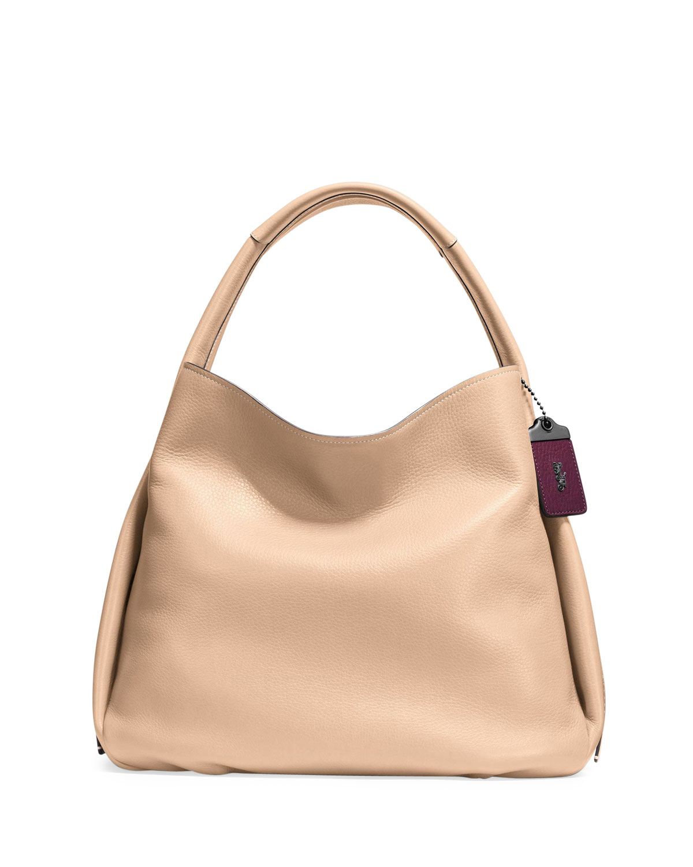 08b3d4581165 Coach 1941 Pebbled Leather Hobo Bag