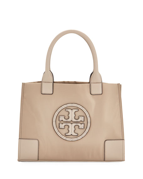 Tory Burch Ella Studded Mini Nylon Tote