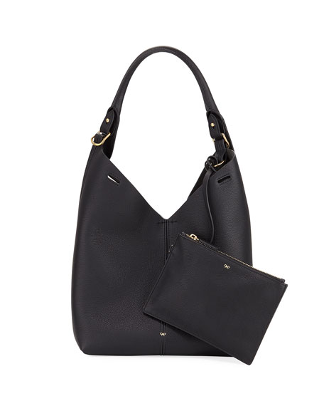 Anya Hindmarch The Bucket Small Circle Hobo Bag,