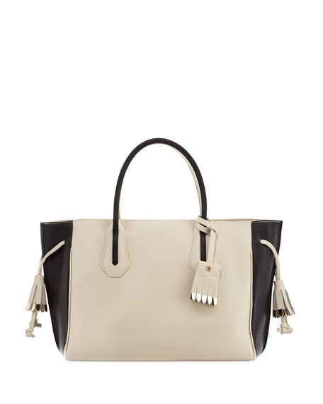Longchamp Penelope Medium Colorblock Tote Bag