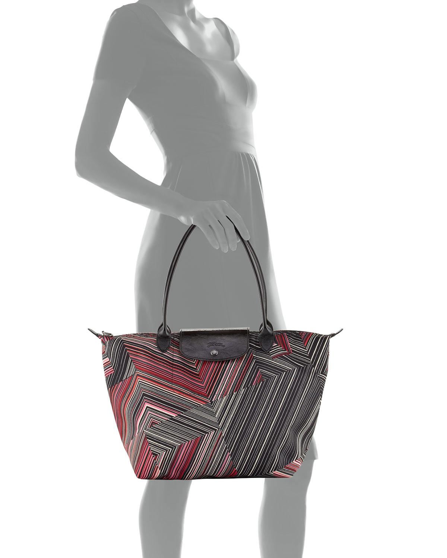 Longchamp Le Pliage Pop Art Large Shoulder Tote Bag Original Vente Pas Cher Livraison Rapide Bon Marché 26OQ3T0Ut8