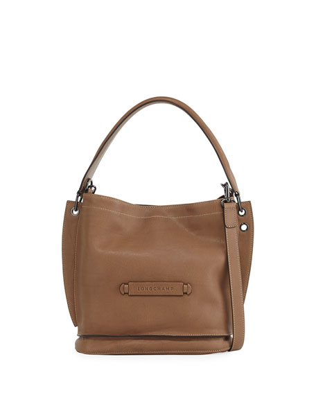 Longchamp Leather 3D Crossbody Bag