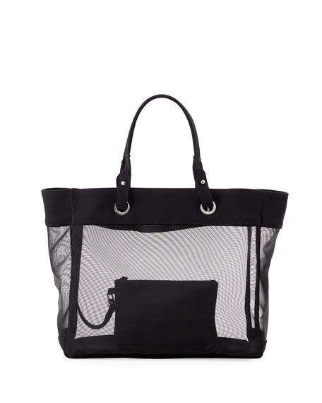 Florence Solid Beach Tote Bag
