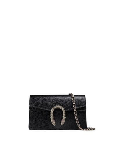 4492c5d6422 Gucci Dionysus Leather Super Mini Bag