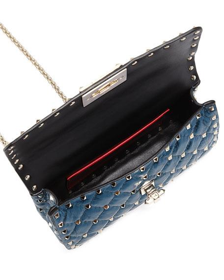 Rockstud Spike Small Top-Handle Bag
