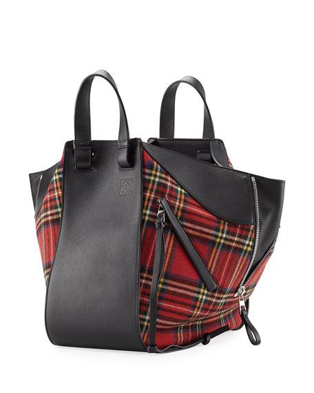 Hammock Small Tartan Convertible Bag