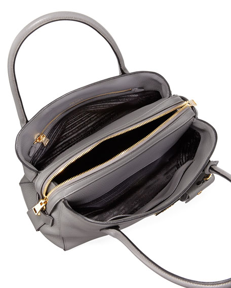 Medium Vitello Daino Top-Handle Bag