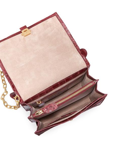 Medium Crocodile Top-Handle Bag