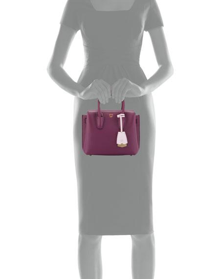 Milla Mini Leather Tote Bag