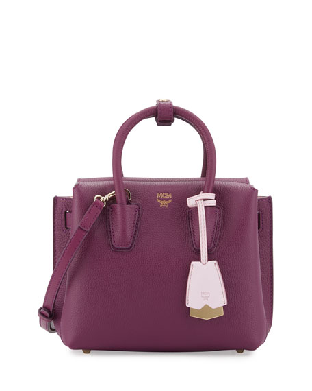 MCM Milla Mini Leather Tote Bag