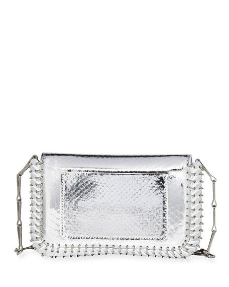 14#01 Classic Link Mini Python Shoulder Bag
