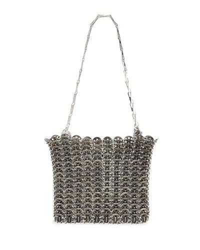 Iconic Acier Metal Shoulder Bag
