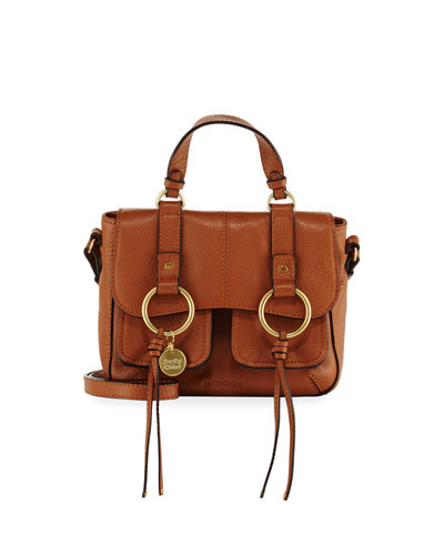Filipa Small Leather Shoulder Bag
