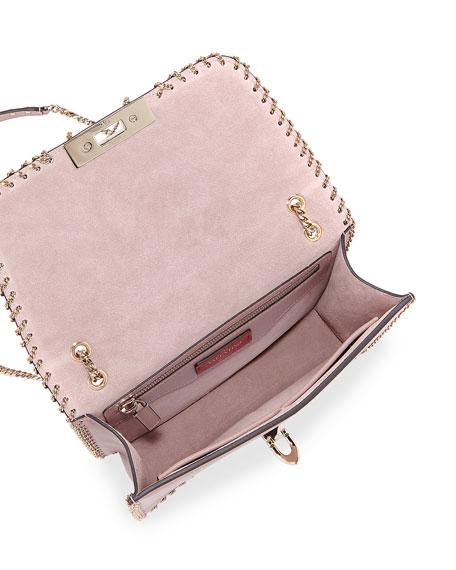 Demilune Small Vitello Groumette Shoulder Bag