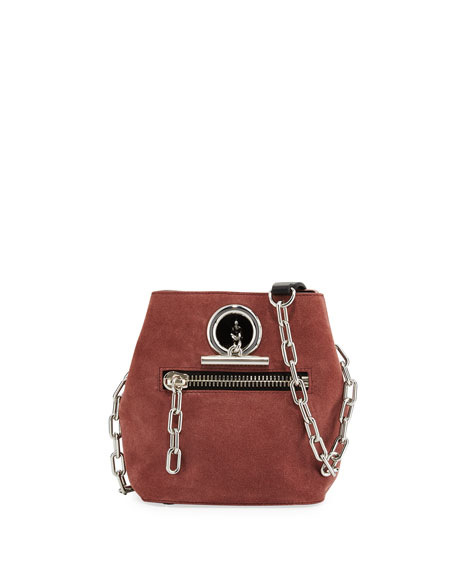 Alexander Wang Riot Suede Crossbody Bag