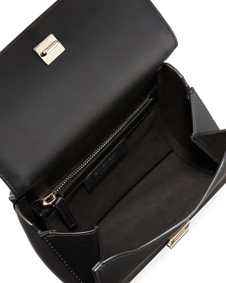 Pandora Box Chain Studded Shoulder Bag