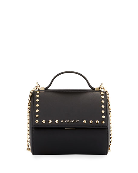 Givenchy Pandora Box Chain Studded Shoulder Bag