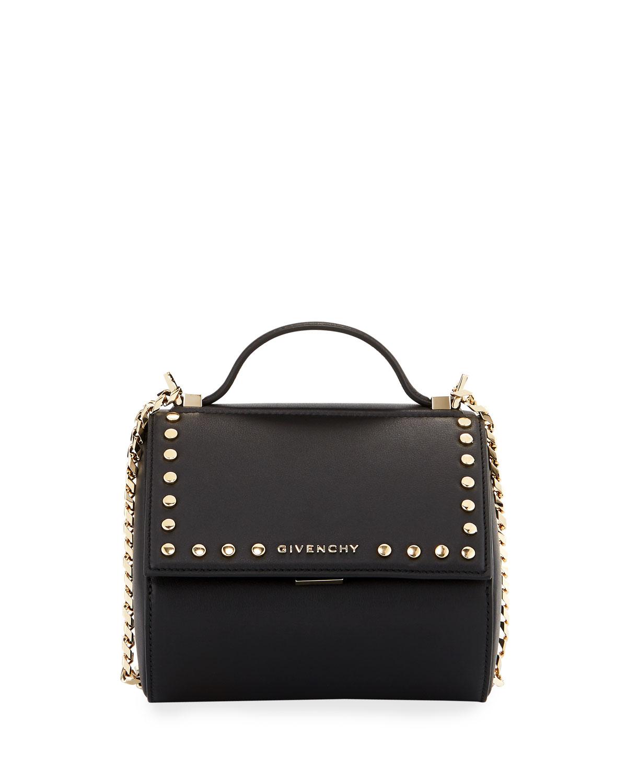0a850687fd70 GivenchyPandora Box Chain Studded Shoulder Bag
