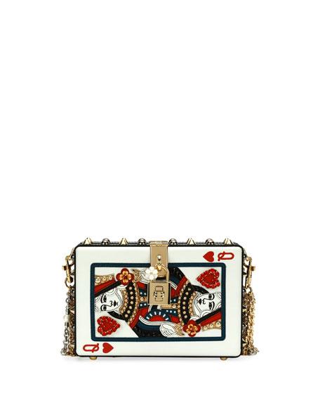 Dolce & Gabbana Queen of Hearts Box Clutch