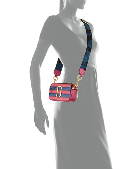 Snapshot Glitter Camera Bag