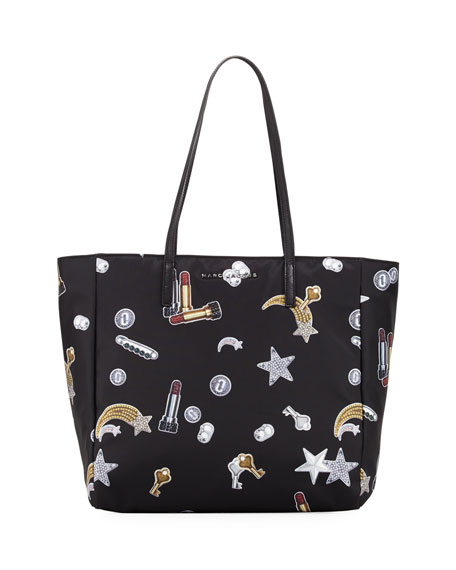 Tossed Charms Printed Shopping Bag