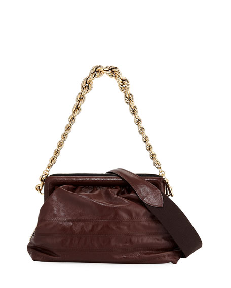 Marc Jacobs Quilted Frame Chain Shoulder Bag