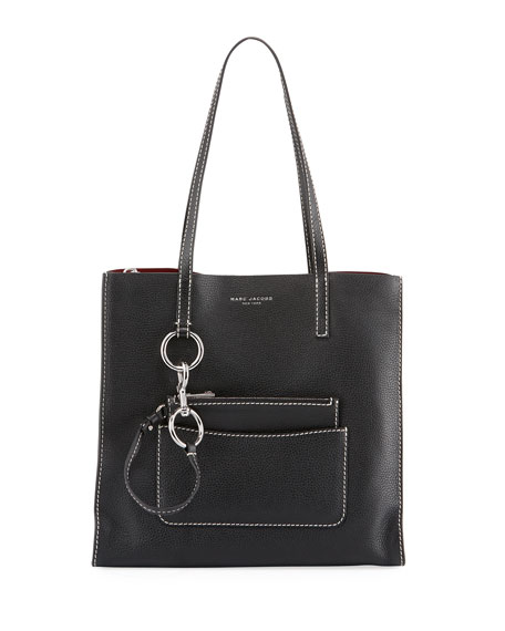 Marc Jacobs The Bold Grind Pebbled Shopper Tote