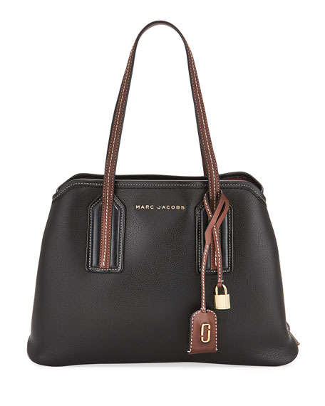 Marc Jacobs The Striped Editor Large Tote Bag