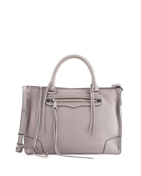 Rebecca Minkoff Regan Pebbled Satchel Bag