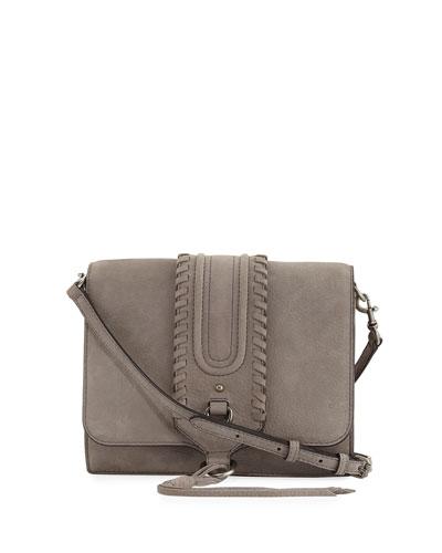 Paige Nubuck Crossbody Bag